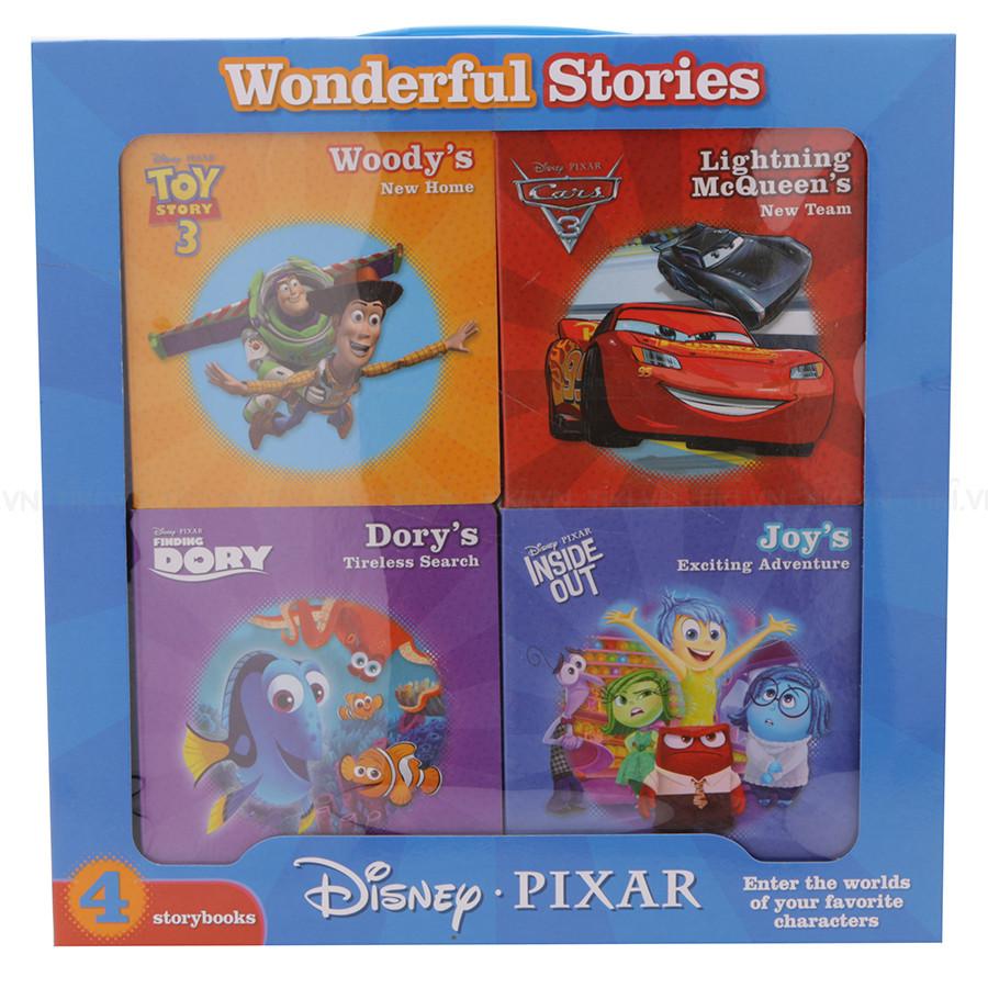 Disney Pixar - 4 Board Books In A Box