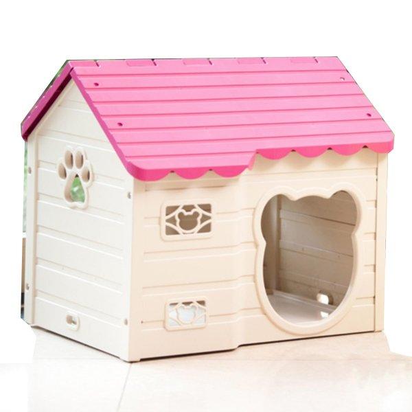 Nhà ở cao cấp dành cho chó mèo Purmi (Hồng)