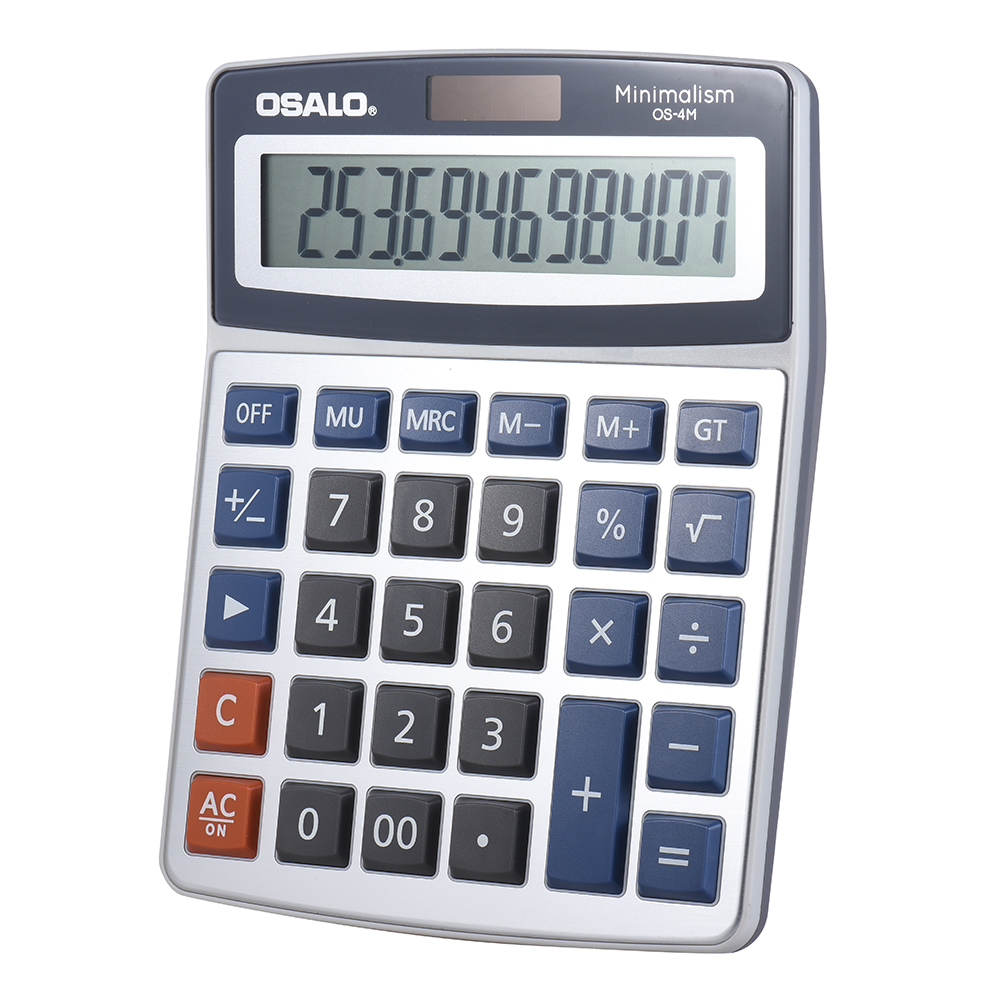 Standard Function Desktop Electronic Calculator 12 Digits Large Display Solar and Battery Dual Power Supply for School - 18889559 , 6792559613148 , 62_30785477 , 250000 , Standard-Function-Desktop-Electronic-Calculator-12-Digits-Large-Display-Solar-and-Battery-Dual-Power-Supply-for-School-62_30785477 , tiki.vn , Standard Function Desktop Electronic Calculator 12 Digits