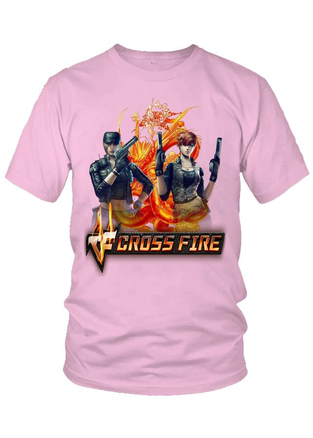 Áo thun nam thời trang VinaBoss game CrossFire Legends ULP-X
