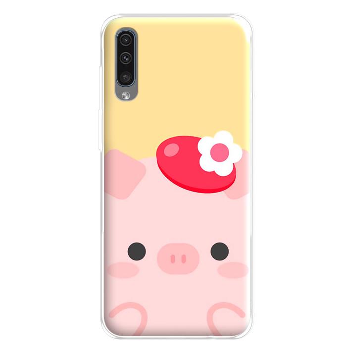 Ốp lưng dẻo cho điện thoại Samsung Galaxy A50 - 224 0021 PIG05