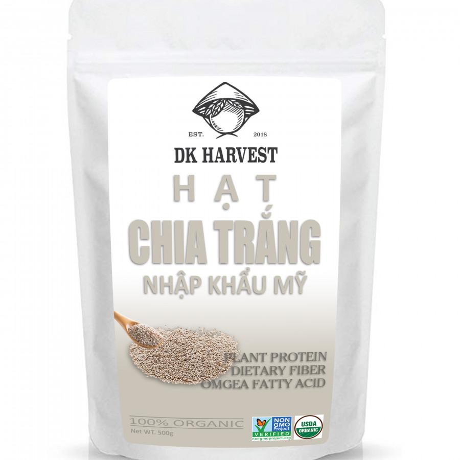 Hạt Chia Trắng DK Harvest (Nhập Khẩu USA) - 9853342 , 2487421532460 , 62_17968229 , 335000 , Hat-Chia-Trang-DK-Harvest-Nhap-Khau-USA-62_17968229 , tiki.vn , Hạt Chia Trắng DK Harvest (Nhập Khẩu USA)