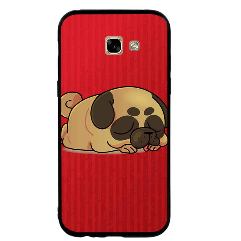 Ốp lưng viền TPU cho Samsung A5 2017 - Kute Dog 03