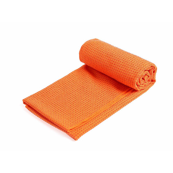 Khăn trải thảm tập yoga YESURE  với bề mặt hạt cao su non tự nhiên cao cấp tặng kèm túi đựng tiện dụng