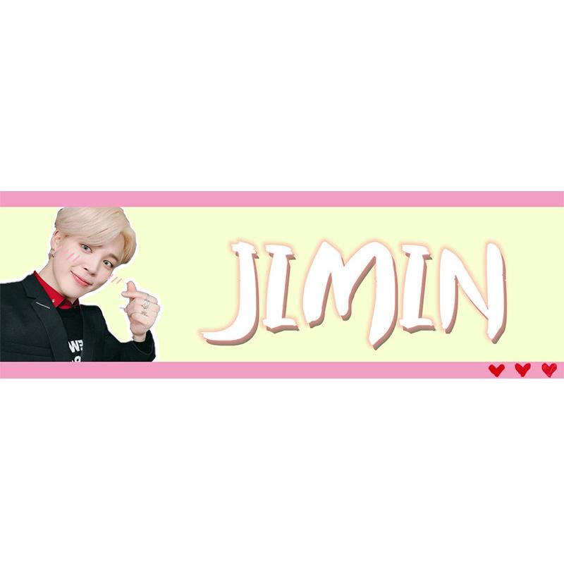 Banner cầm tay JIMIN BTS - 2299829 , 3344345821096 , 62_14796721 , 60000 , Banner-cam-tay-JIMIN-BTS-62_14796721 , tiki.vn , Banner cầm tay JIMIN BTS