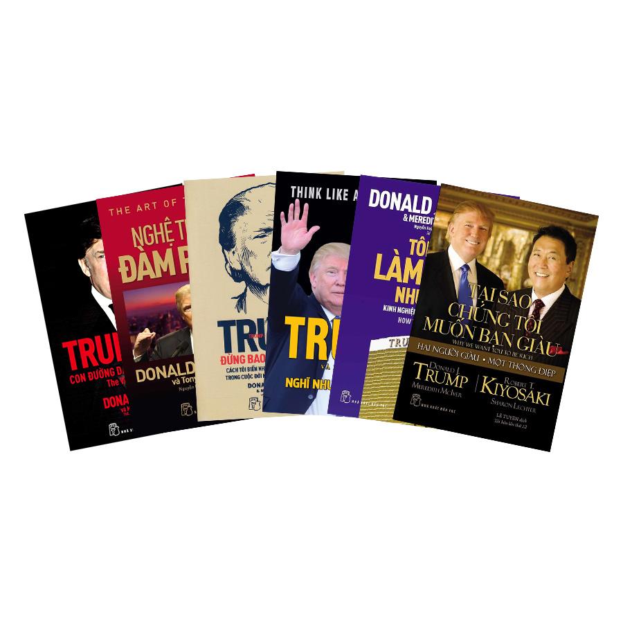 Combo 6 Cuốn D.Trump - 1557570 , 9793012634721 , 62_10102896 , 456000 , Combo-6-Cuon-D.Trump-62_10102896 , tiki.vn , Combo 6 Cuốn D.Trump