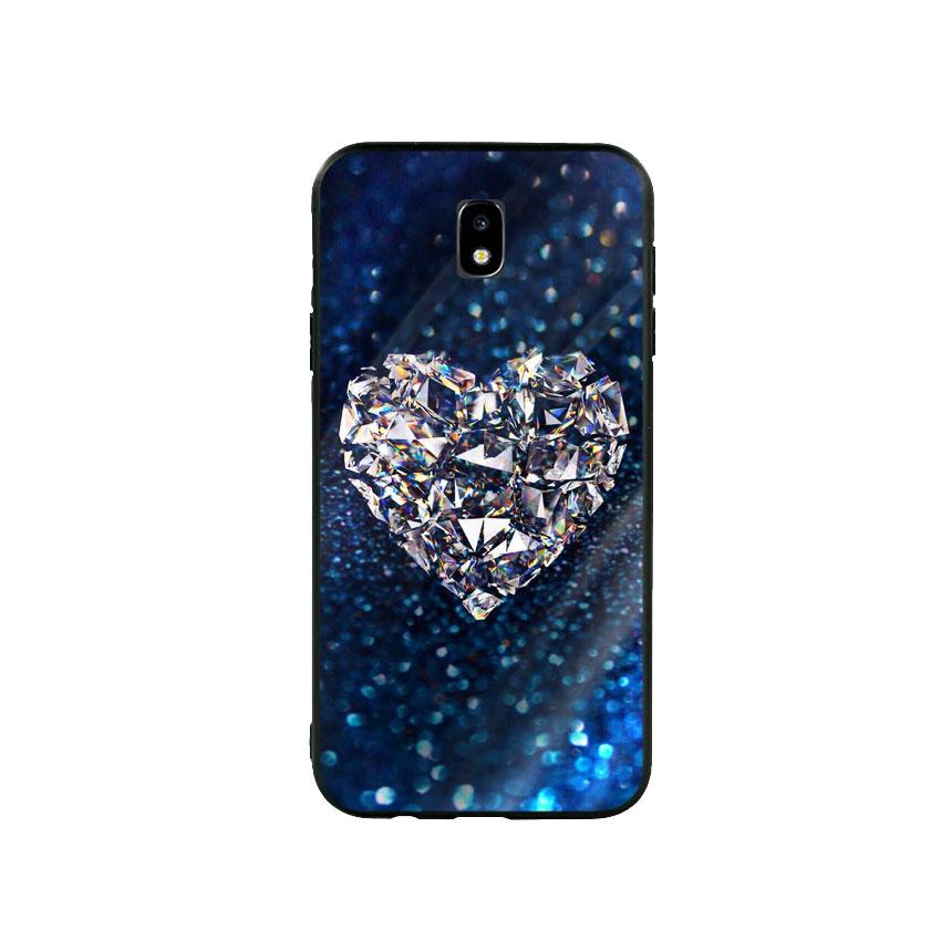Ốp Lưng Kính Cường Lực cho điện thoại Samsung Galaxy J7 Pro - Heart 11