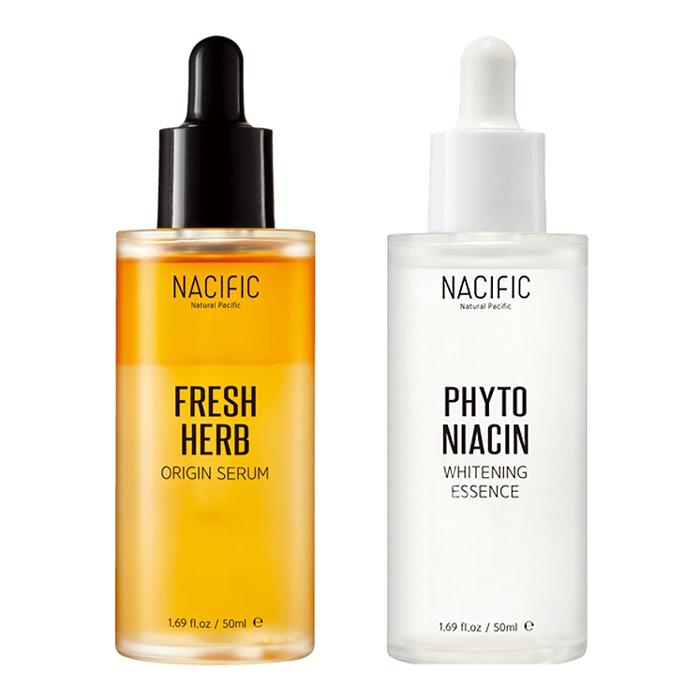 Combo 2 [NACIFIC]Fresh Herb Origin Serum 50ml + Phyto Niacin Whitening Essence 50ml - 2012483 , 9223300283954 , 62_14709650 , 1557000 , Combo-2-NACIFICFresh-Herb-Origin-Serum-50ml-Phyto-Niacin-Whitening-Essence-50ml-62_14709650 , tiki.vn , Combo 2 [NACIFIC]Fresh Herb Origin Serum 50ml + Phyto Niacin Whitening Essence 50ml