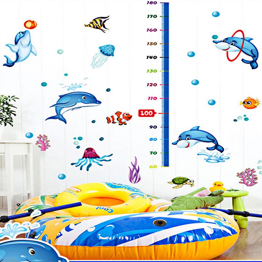Decal dán tường thước đo chiều cao cho bé thước cá heo ngộ nghĩnh sk9034 - 4843380 , 8359330292916 , 62_15816974 , 90000 , Decal-dan-tuong-thuoc-do-chieu-cao-cho-be-thuoc-ca-heo-ngo-nghinh-sk9034-62_15816974 , tiki.vn , Decal dán tường thước đo chiều cao cho bé thước cá heo ngộ nghĩnh sk9034