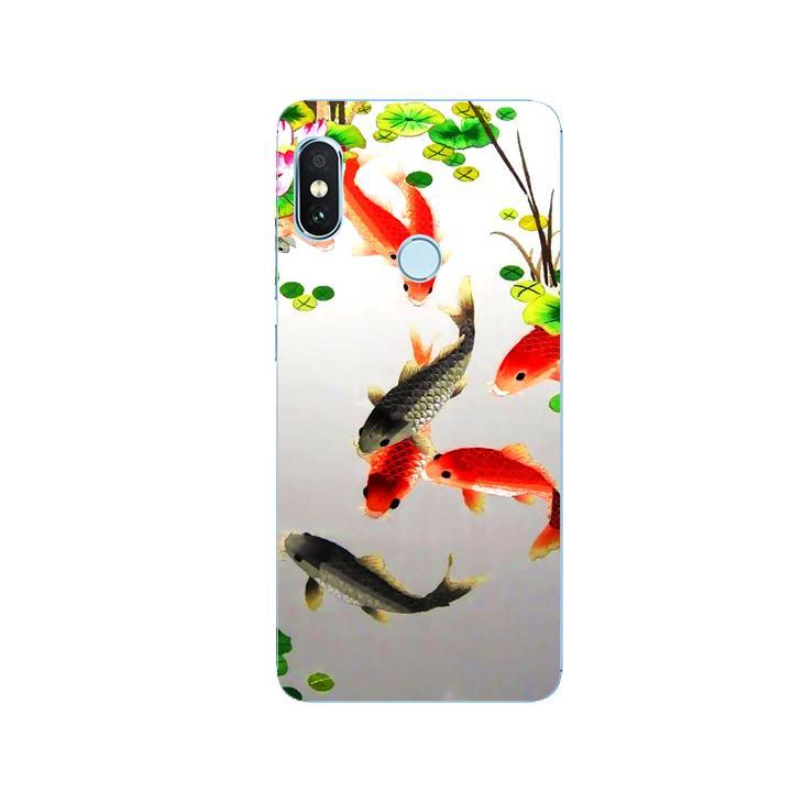Ốp Lưng Dẻo Cho Điện thoại Xiaomi Redmi Note 5 - Fishes 03