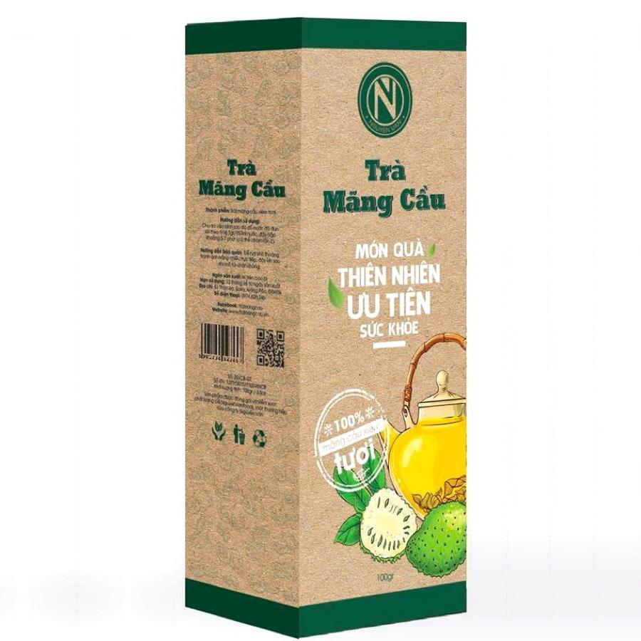 Trà mãng cầu Nguyễn Văn - Hỗ trợ giấc ngủ và phòng ngừa tiểu đường