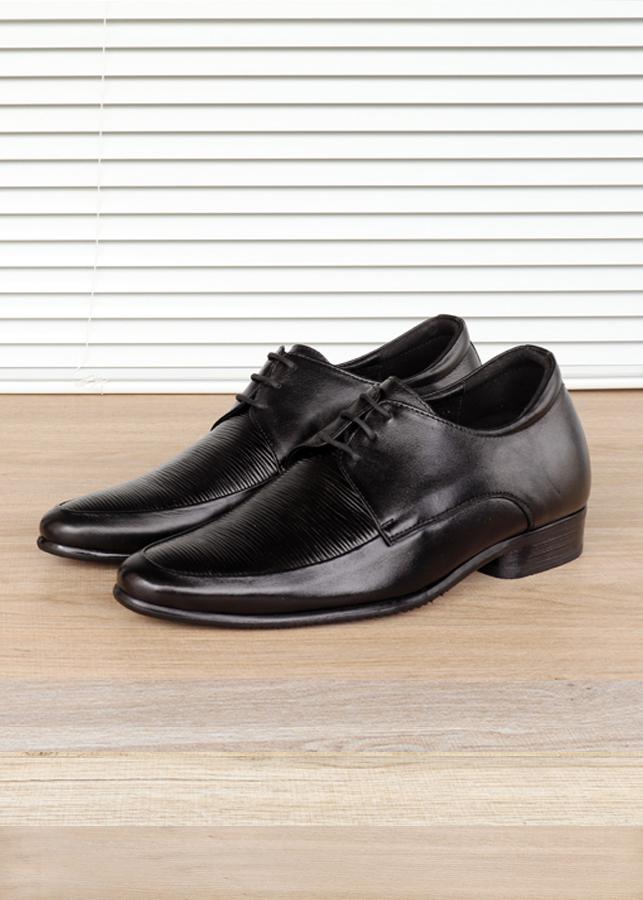 Giày tăng chiều cao da thật TTRA S1002DS - cao 6cm