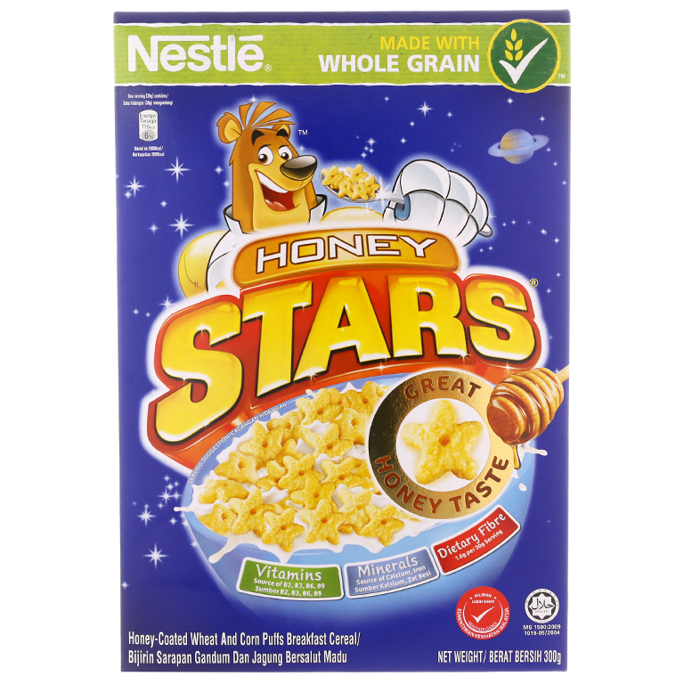 Ngũ Cốc Ăn Sáng Honey Stars Nestlé (300g)