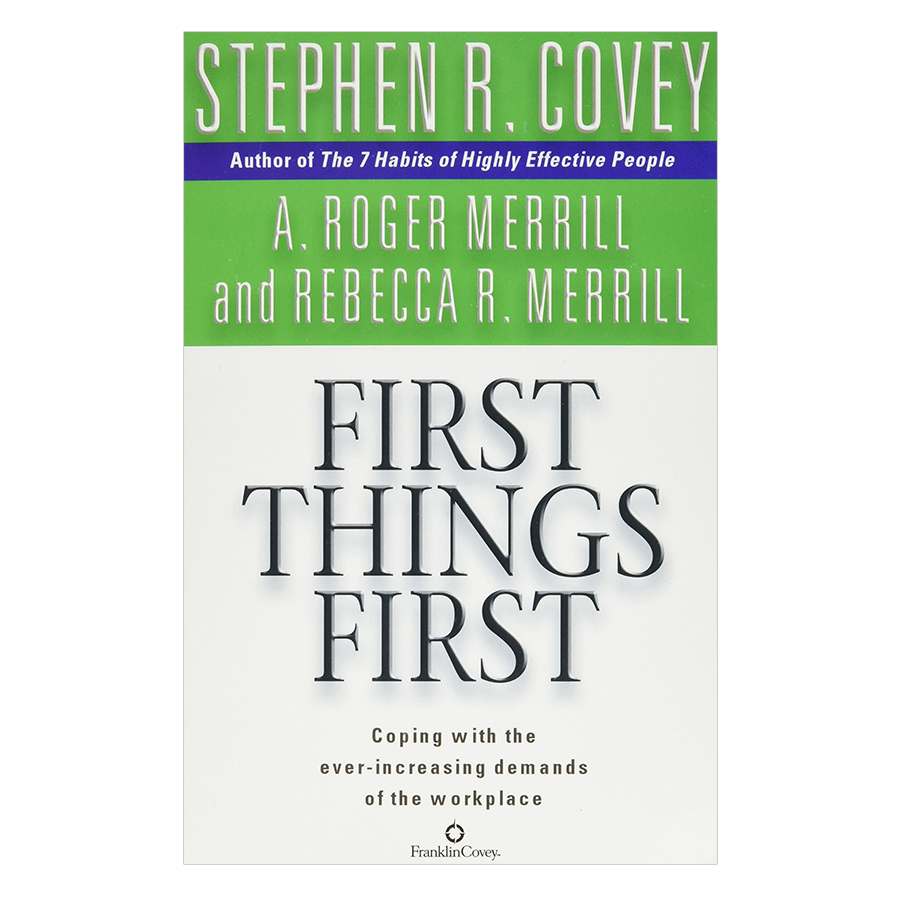 First Things FirstPaperback