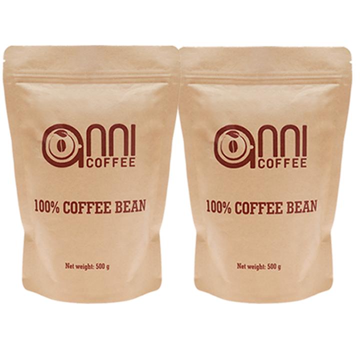 Combo 2 Gói Cà phê Sữa Anni Coffee 500 gram