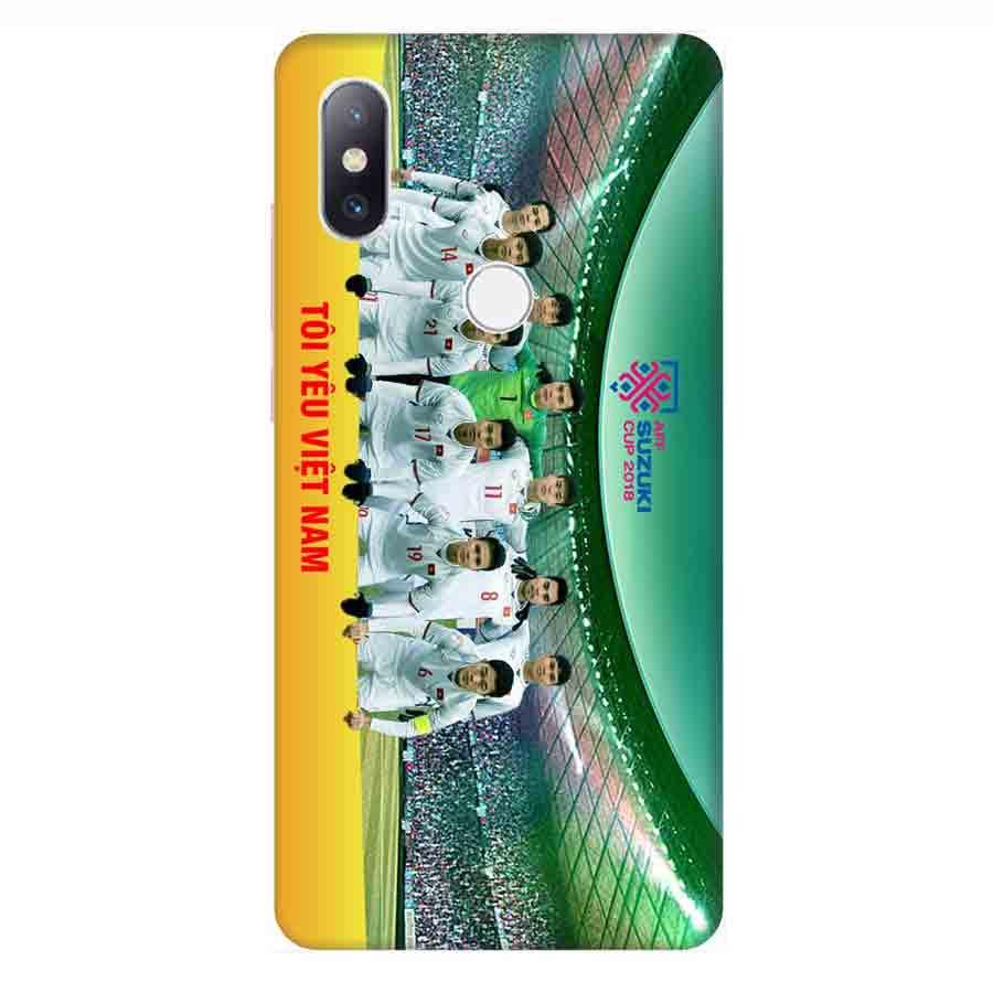 Ốp Lưng Dành Cho Xiaomi Mi Mix 2S AFF Cup Đội Tuyển Việt Nam - Mẫu 3