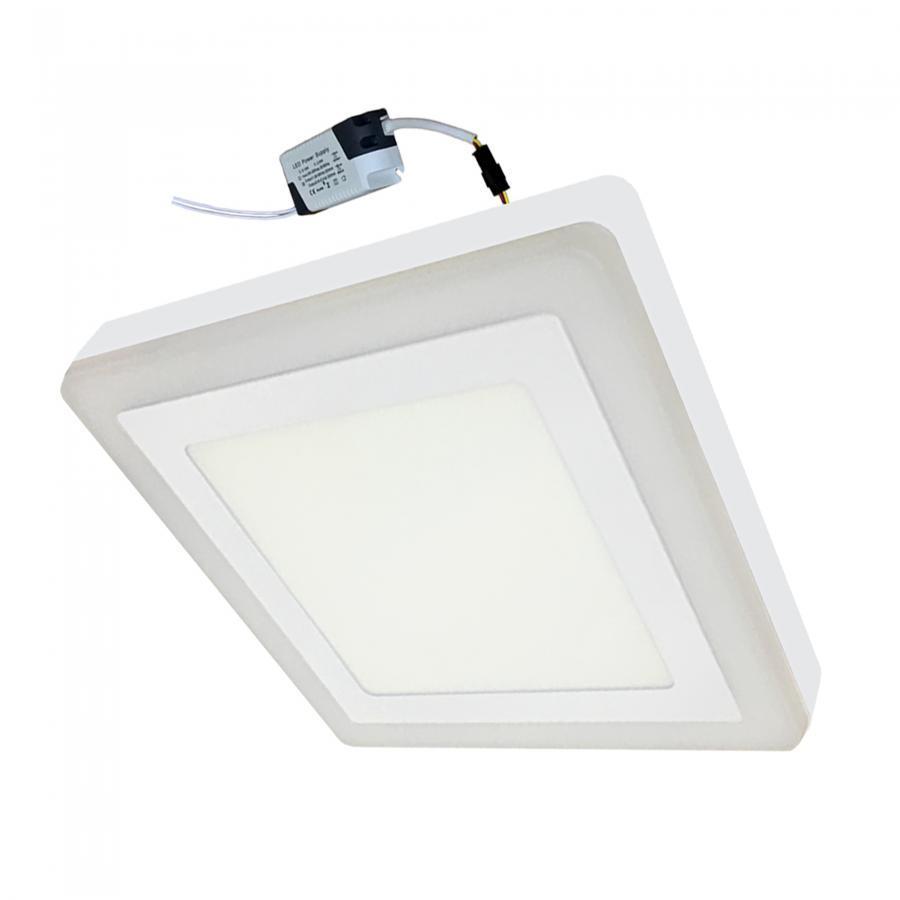 Đèn Led ốp trần 18w +6w vuông nổi 2 màu 3 chế độ sáng trắng+xanh LP-SoW18-B6 - 1056602 , 4383132353036 , 62_3495953 , 214000 , Den-Led-op-tran-18w-6w-vuong-noi-2-mau-3-che-do-sang-trangxanh-LP-SoW18-B6-62_3495953 , tiki.vn , Đèn Led ốp trần 18w +6w vuông nổi 2 màu 3 chế độ sáng trắng+xanh LP-SoW18-B6