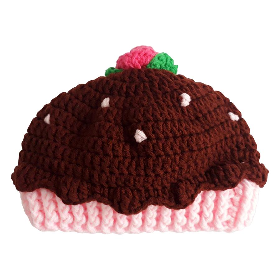 Nón Len Cupcake Cho Bé H612C10