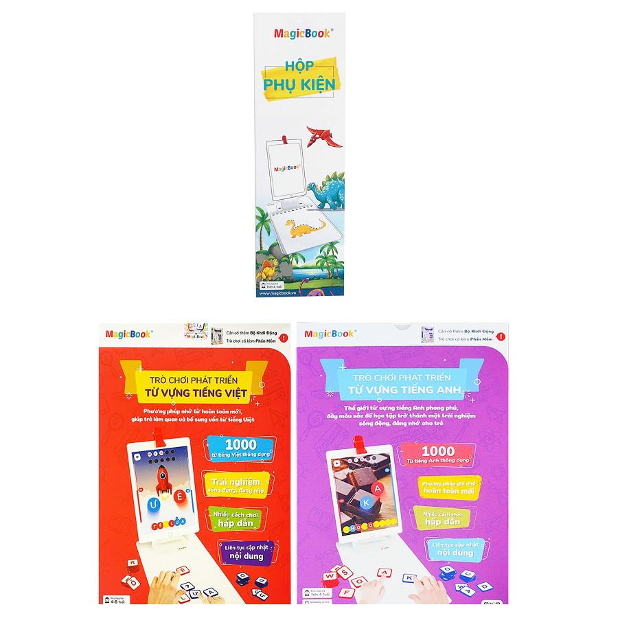 Magicbook Combo S-Box2 Hộp Phụ Kiện + Bộ Tiếng Anh + Bộ Tiếng Việt