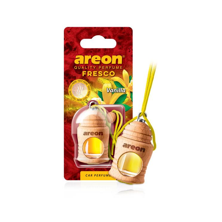 Tinh dầu treo xe hơi hương vani – Areon Fresco Vanilla (Ngọt nhẹ)