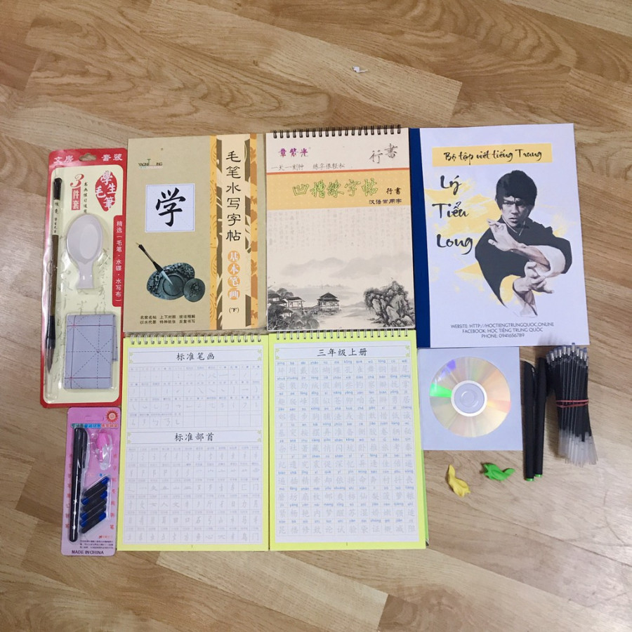 Bộ tập viết tiếng Trung Khổng Minh gần 6000 chữ Khải Thư  Hành Thư Có Pinyin, giải nghĩa, quà tặng + DVD quà tặng - 7591052 , 9892005199916 , 62_16931210 , 599000 , Bo-tap-viet-tieng-Trung-Khong-Minh-gan-6000-chu-Khai-Thu-Hanh-Thu-Co-Pinyin-giai-nghia-qua-tang-DVD-qua-tang-62_16931210 , tiki.vn , Bộ tập viết tiếng Trung Khổng Minh gần 6000 chữ Khải Thư  Hành Thư C