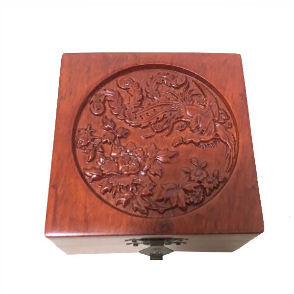 Hộp đựng Con dấu đơn, đồ trang sức nhỏ Điêu khắc Chim Phượng VUÔNG - 9487020 , 1026373693327 , 62_15663004 , 300000 , Hop-dung-Con-dau-don-do-trang-suc-nho-Dieu-khac-Chim-Phuong-VUONG-62_15663004 , tiki.vn , Hộp đựng Con dấu đơn, đồ trang sức nhỏ Điêu khắc Chim Phượng VUÔNG