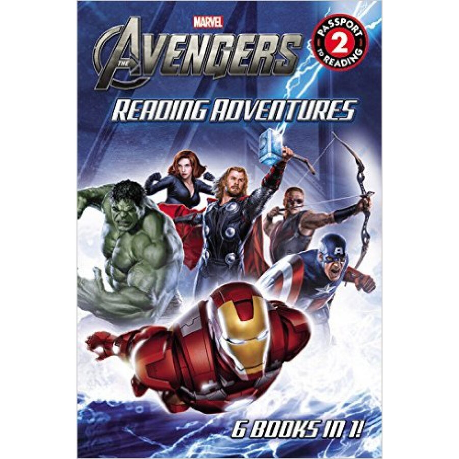 Marvels The Avengers Reading Adventures - 1230926 , 7876249256774 , 62_5250935 , 1413000 , Marvels-The-Avengers-Reading-Adventures-62_5250935 , tiki.vn , Marvels The Avengers Reading Adventures