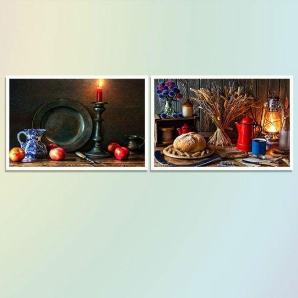 """Bộ 2 Tranh Canvas Không Viền """"Bánh Mì Và Hoa Quả"""" W494 - 1045842 , 2573078658308 , 62_6399593 , 676000 , Bo-2-Tranh-Canvas-Khong-Vien-Banh-Mi-Va-Hoa-Qua-W494-62_6399593 , tiki.vn , Bộ 2 Tranh Canvas Không Viền """"Bánh Mì Và Hoa Quả"""" W494"""