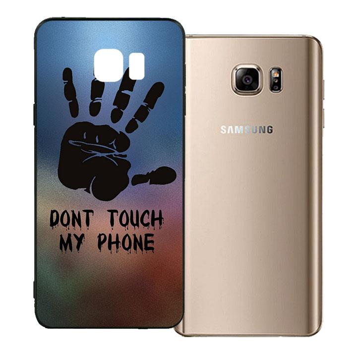 Ốp lưng viền TPU cho Samsung Galaxy Note 5 - Dont Touch My Phone