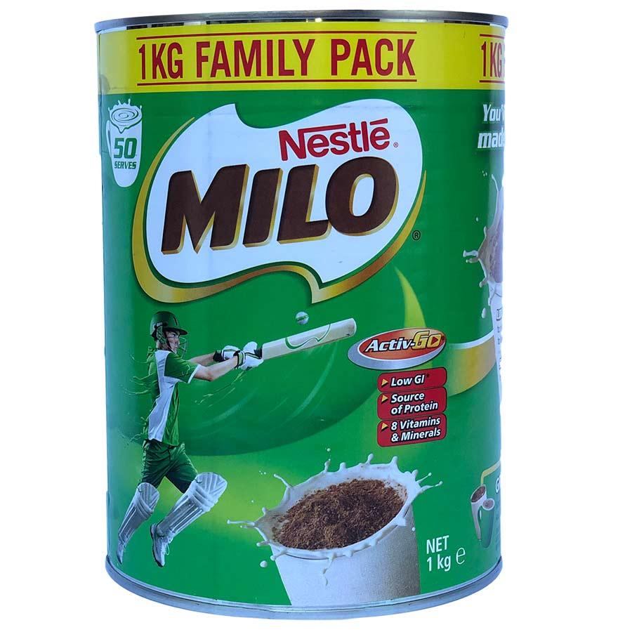Sữa Nestle Milo Úc Hộp 1Kg - 1161251 , 4309690290101 , 62_4618525 , 499000 , Sua-Nestle-Milo-Uc-Hop-1Kg-62_4618525 , tiki.vn , Sữa Nestle Milo Úc Hộp 1Kg