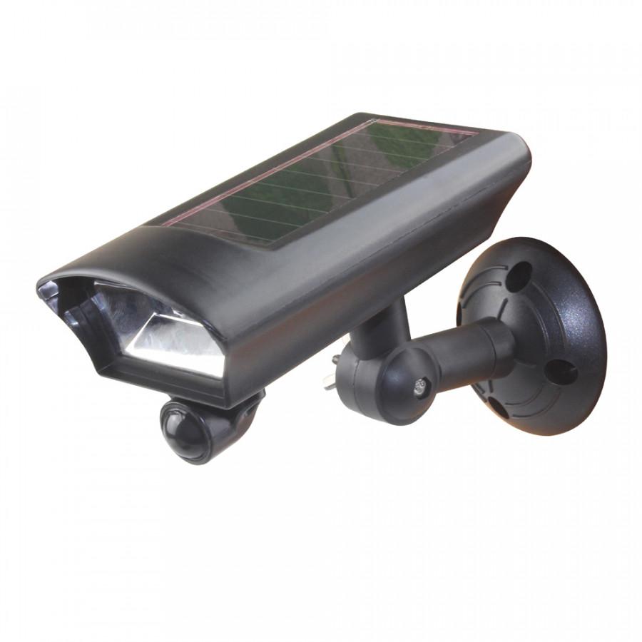 Bullet Fake Security Camera Shape Solar Powered Lawn Lights PIR Motion Sensor Outdoor Garden Pathway Lamp Landscape