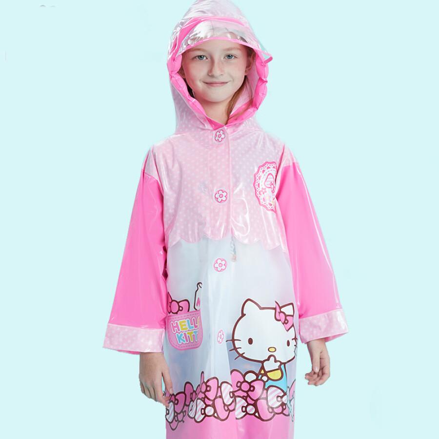 Áo Mưa Hello Kitty Cho Bé Y18117 (100-110cm)