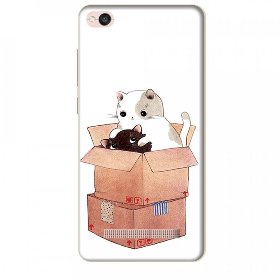 Ốp lưng dành cho điện thoại XIAOMI REDMI 4A Mèo Con Dễ Thương