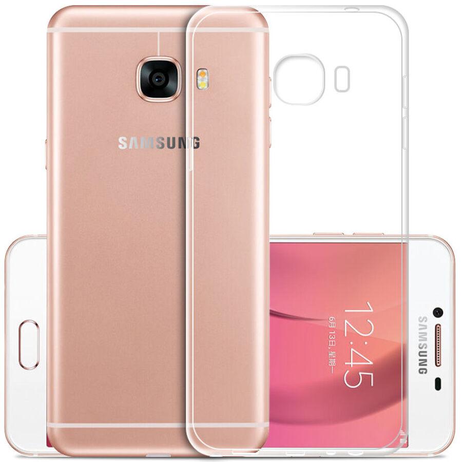 Ốp Silicone Trong Suốt KOOLIFE Cho Samsung Galaxy C9 Pro (C9000)