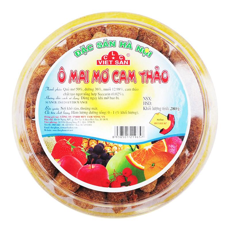 Ô Mai Mơ Cam Thảo Việt San 280G