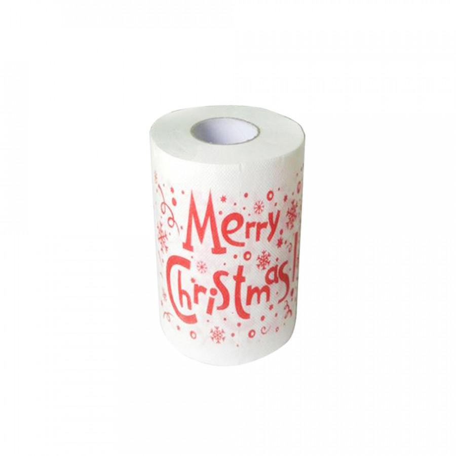 Christmas Printing Paper Toilet Tissues Novelty Roll Paper for Christmas Decoration