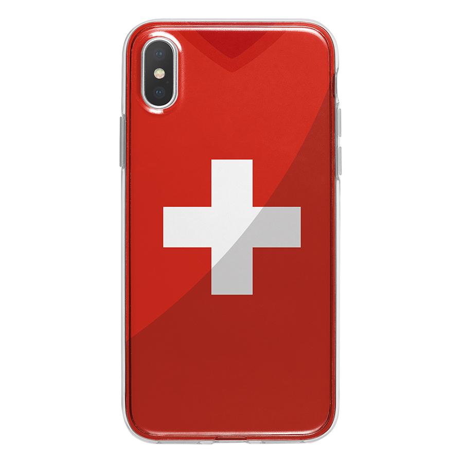 Ốp Lưng Mika Cho iPhone X SWITZERLAND-C-IPX