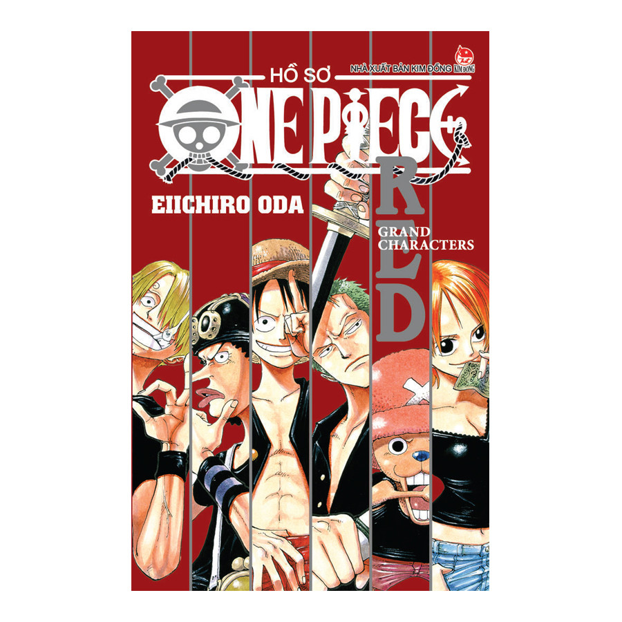 Hồ sơ One Piece - Red Grand Characters (Tái Bản)