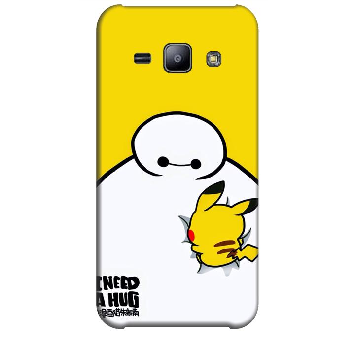 Ốp lưng dành cho điện thoại  SAMSUNG GALAXY J2 hinh Big Hero Pikachu