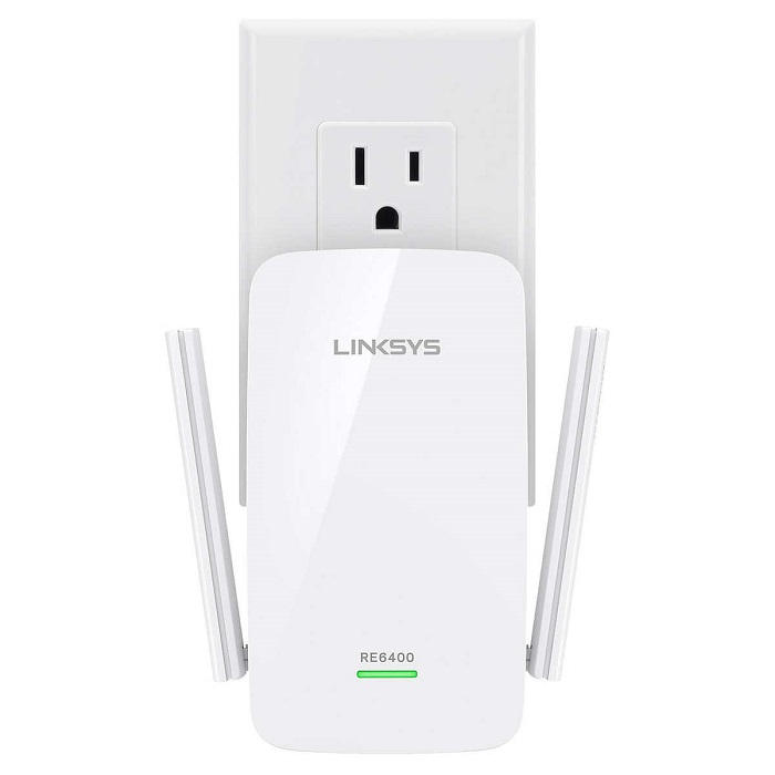 Bộ thu sóng phát lại - Router wifi Linksys RE6400 AC1200 phát sóng băng tần kép - 1086392 , 3497948077053 , 62_3807797 , 2500000 , Bo-thu-song-phat-lai-Router-wifi-Linksys-RE6400-AC1200-phat-song-bang-tan-kep-62_3807797 , tiki.vn , Bộ thu sóng phát lại - Router wifi Linksys RE6400 AC1200 phát sóng băng tần kép