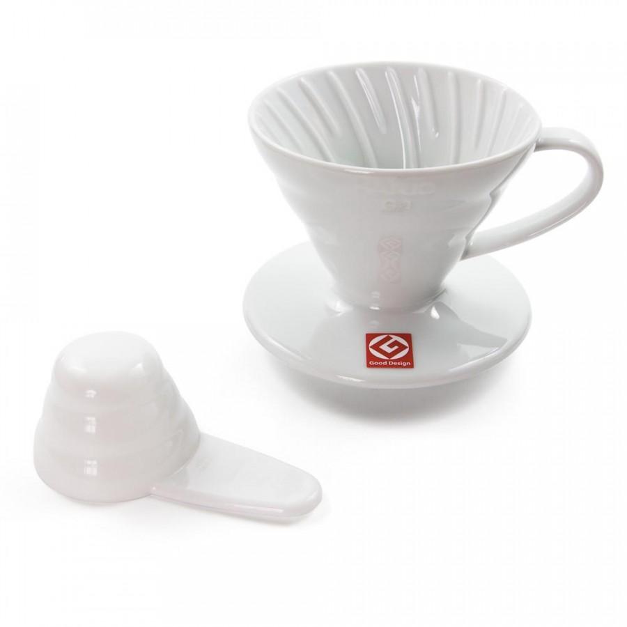 Phễu cà phê HARIO V60 bằng Sứ - VDC-01W - Trắng - 1532476 , 6454966356130 , 62_8082899 , 594000 , Pheu-ca-phe-HARIO-V60-bang-Su-VDC-01W-Trang-62_8082899 , tiki.vn , Phễu cà phê HARIO V60 bằng Sứ - VDC-01W - Trắng