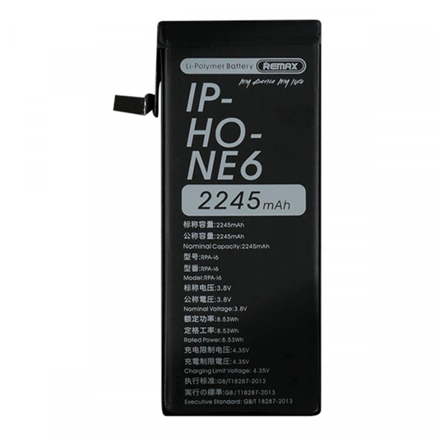 Pin IPhone 6s Dung Lượng Cao 2245mAh Chính Hãng Remax RPA-I6S