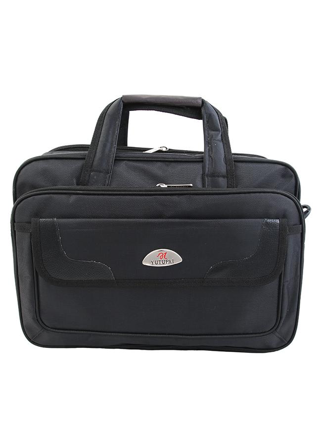 Cặp đựng Laptop, túi đưng Laptop sách vở, tài liệu siêu bền C03 (Tặng túi du lịch PĐ) Yutupai 40 x 32,5 x 16,5cm