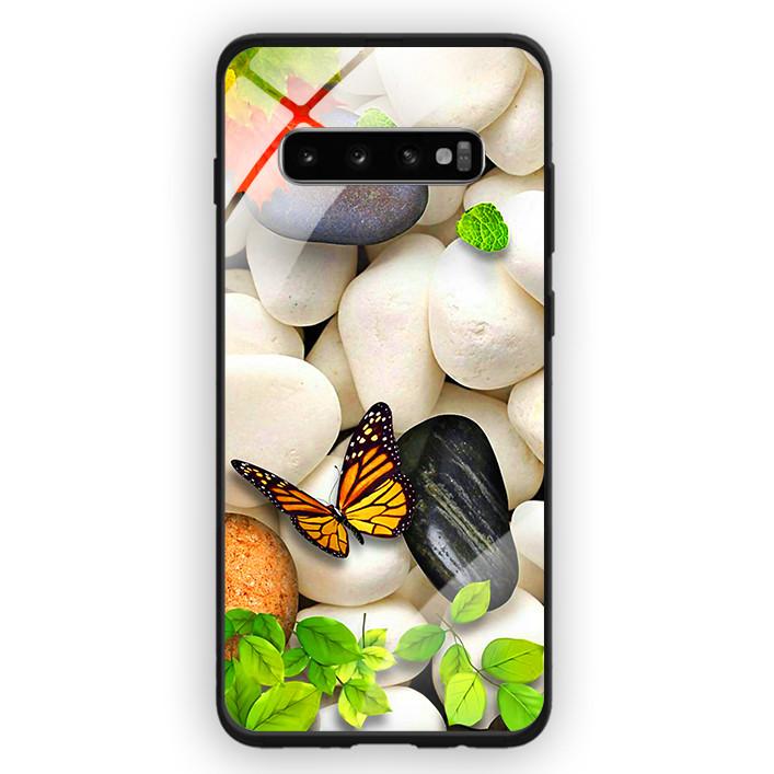 Ốp Lưng Kính Cường Lực Cho Điện Thoại Samsung Galaxy S10 Plus - 391 0102 SPRING04 - Hàng Chính Hãng