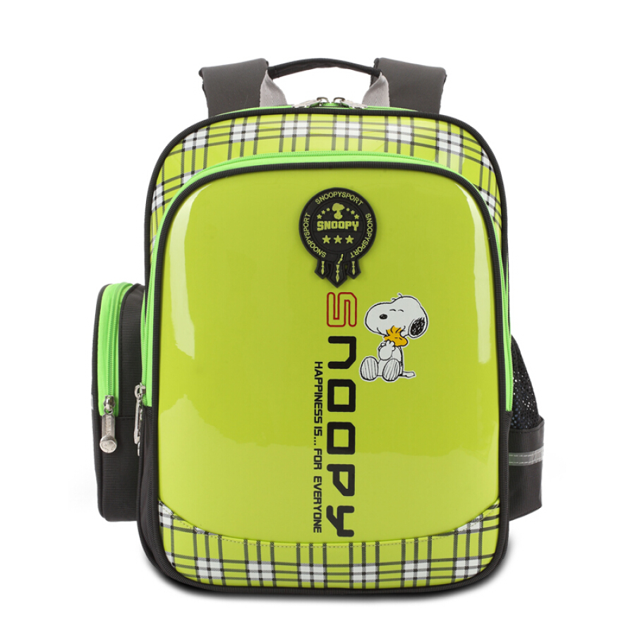 Snoopy (SNOOPY) school bag primary school male and female 1-3-4-6 grade burden backpack children