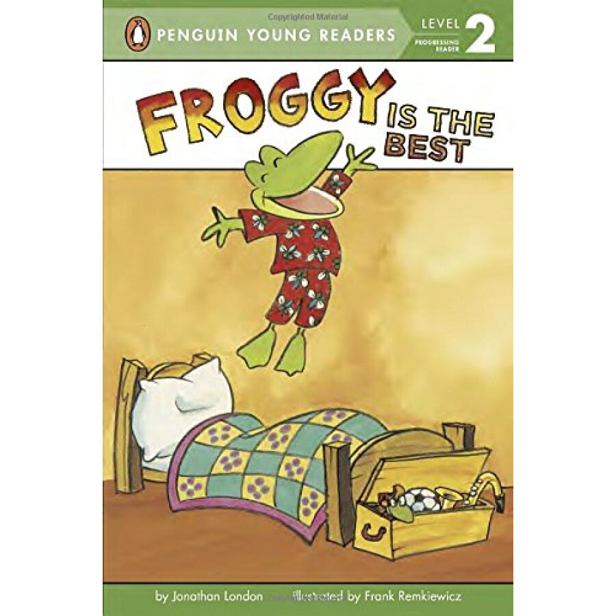 Froggy Is the Best - 1223539 , 5463932228563 , 62_5228125 , 108000 , Froggy-Is-the-Best-62_5228125 , tiki.vn , Froggy Is the Best