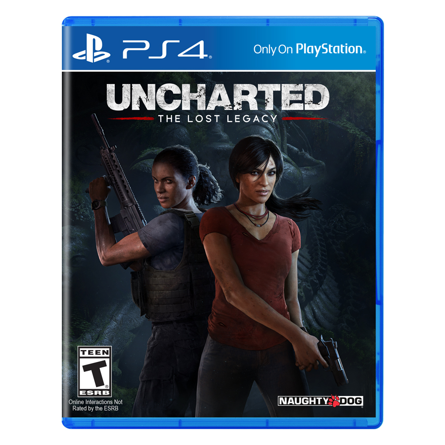 Đĩa Game PlayStation PS4 Sony Uncharted The Lost Legacy Hệ Asia