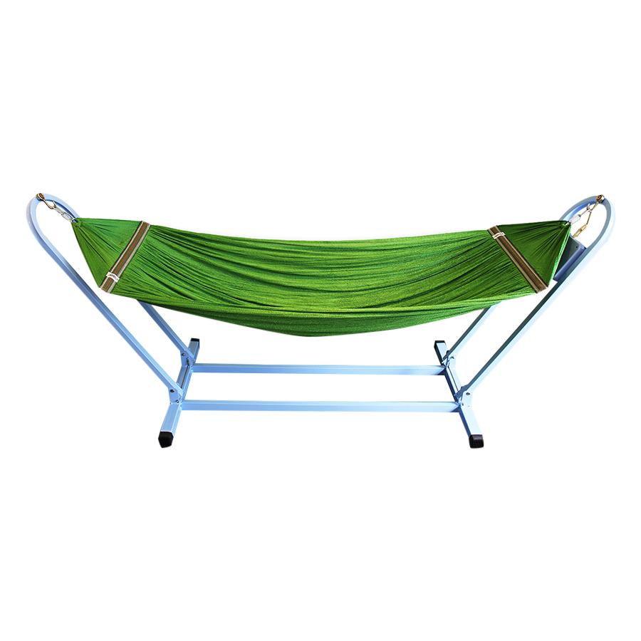 Võng tự động cho bé VINANOI - VTD35 Lưới võng màu xanh lá