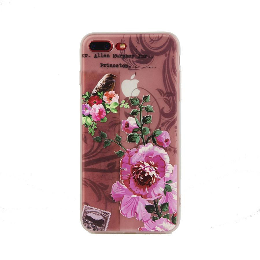 Ốp Hoa Châu Âu iPhone 7 Plus/ 8 Plus Cao Cấp