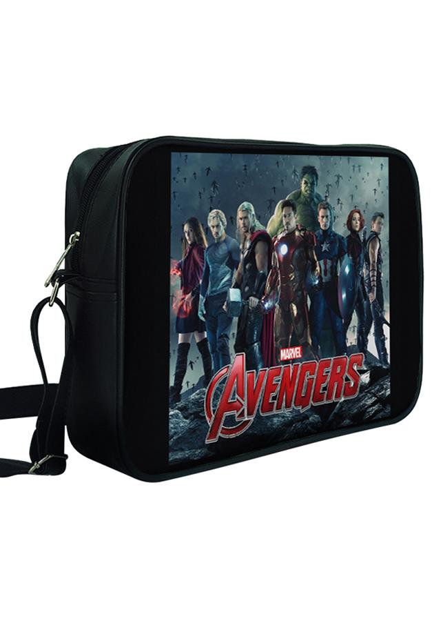 Túi Đeo Chéo Hộp Unisex In Hình Biệt Đội Avengers - TCFF260